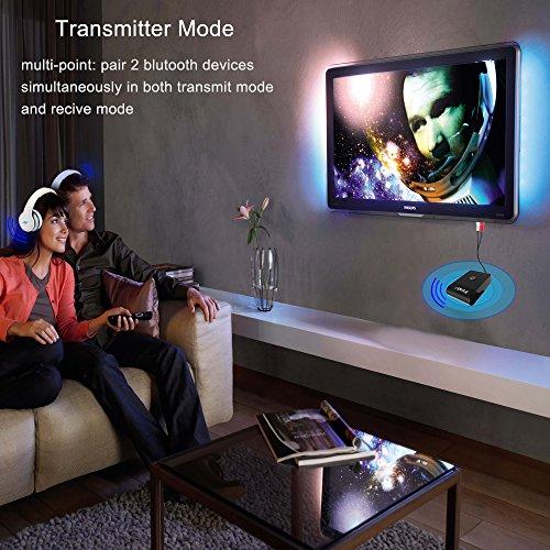 FirstE Bluetooth Receiver/Transmitter 2-in-1 Wireless 3 5mm