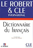 dictionnaire le robert cle international english and french edition