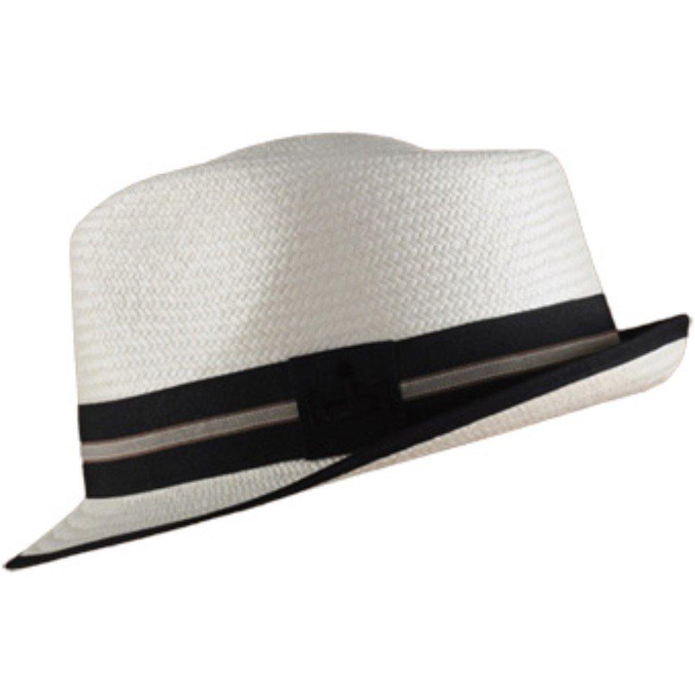 Gamboa Genuine Unisex Panama Hat Short Brim Urban Style