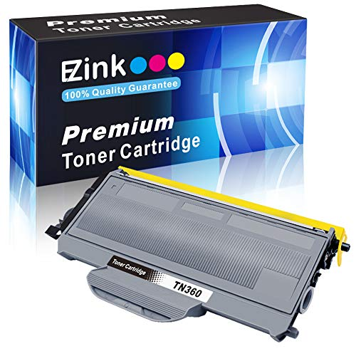 E-Z Ink(TM) Compatible Toner Cartridge Replacement for Brother TN330 TN360 TN-330 TN-360 High Yield To Use With DCP-7040 DCP-7030 MFC-7840W HL-2140 MFC-7340 MFC-7440N HL-2170W HL-2150N (Black, 1 Pack) ()