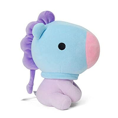 E-dance Kpop BTS Bangtan Boys Cute Baby Sitting Doll Soft Plush Dolls Stuffed Animals Plush Toys Mini Pillow Cushion Gift for A.R.M.Y( MANG): Toys & Games
