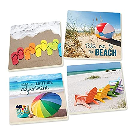 510ytLnx6%2BL._SS450_ Beach Coasters and Coastal Coasters