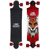 "Landyachtz Switch 40"" Longboard Complete Skateboard. Dropped deck freeriding exceptionally staple symmetrical design"