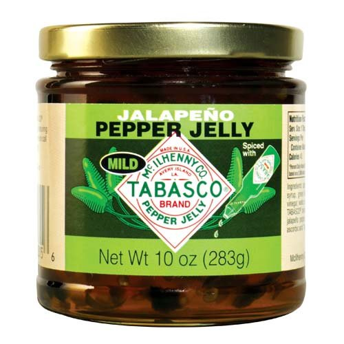 Tabasco Pepper Jelly, Mild, 10 Ounce (Jalapeno Jelly)