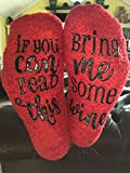 Luxury Red Luxury Wine Socks with Cupcake Gift Packaging