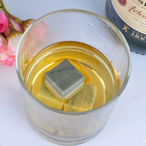 Compra Vktech 6 piezas de piedra de mármol cubitos de hielo ...