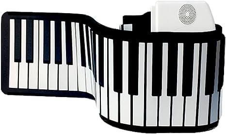 Pianos Teclados Enrollado a Mano Silicona Principiantes ...