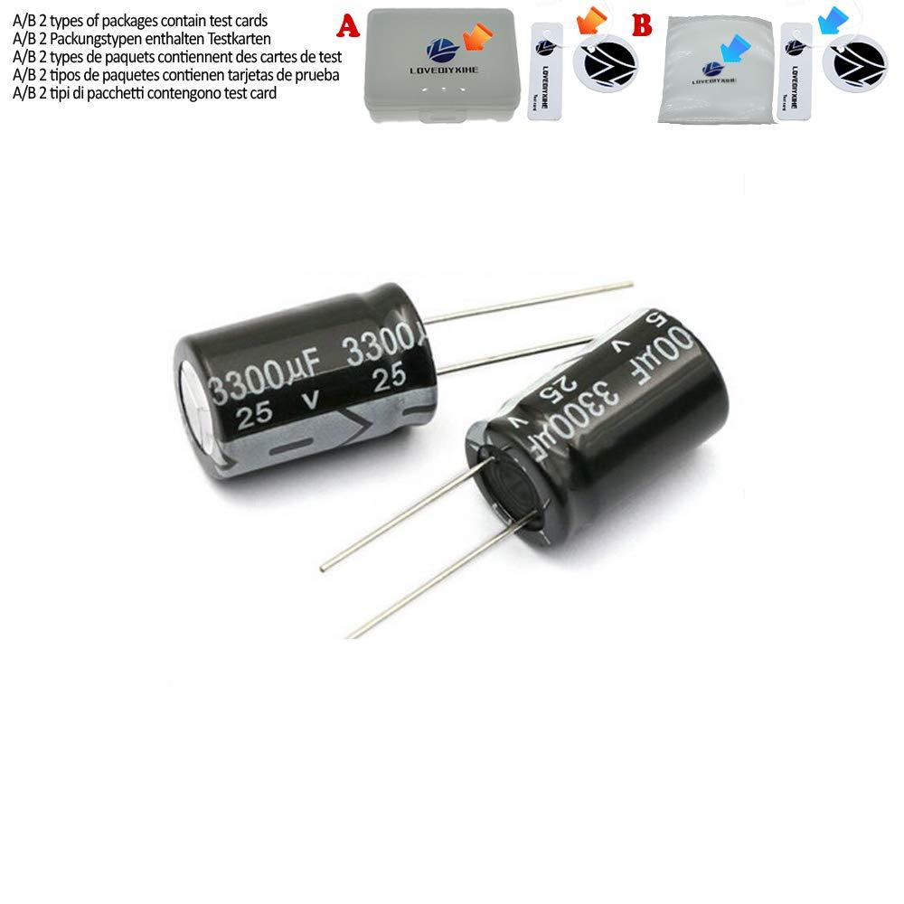 5PCS Aluminum electrolytic Capacitor 6.3V 1000UF 10V 1500UF 16V 2200UF 25V 3300UF 35V 50V 400V 4700UF 680UF 35V 1UF 2.2UF 3.3UF,35V 4700UF 5PCS