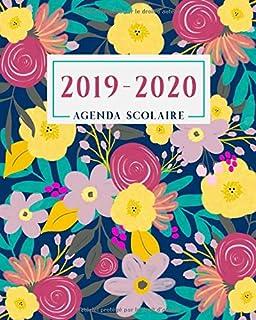 Agenda Scolaire 2019/2020: Motif flamant rose - Agenda ...