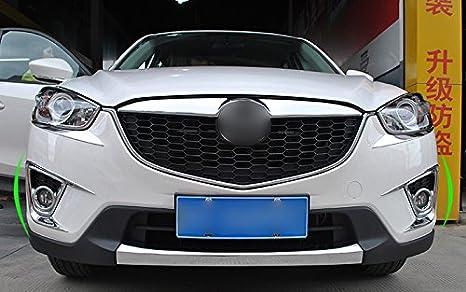 ABS cromo Niebla Delantera Luz Lámpara de Coche 2pcs para CX5 CX-5 2012 - 2016: Amazon.es: Coche y moto