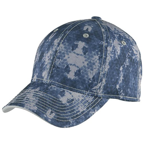 TOP HEADWEAR Game Day Camouflage Cap - True Navy - - Fitted Cap True