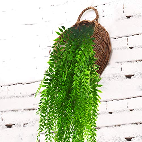 Artificial-Hanging-Vines-Plants-Fake-Ivy-Outdoor-Plant-Vine-Faux-Plastic-Plant-Wall-Hangs-Flowers-Vines-Greenery-Plant-for-Lndoor-Outside-Wedding-Home-Garden-Hanging-Basket-Decor-2pcs