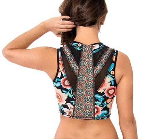 Crop Ambrosia Noir Bodyglove Femme Top Discovery Bikini aPSz1