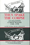 Thus Spake the Corpse, , 157423143X