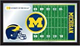 NCAA Michigan Wolverines 15 x 26-Inch Football Mirror