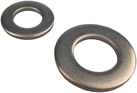 6,4 mm Unterlegscheiben DIN 125 Edelstahl V2A Beilagscheiben A2 Scheiben 500 St/ück M6
