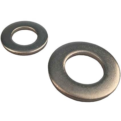 10 pcs DIN 934 dado esagonale in acciaio inox A2-70 M36
