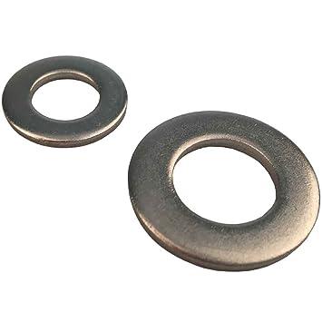 - M8 100 St/ück Standard DIN 934 Edelstahl A2 - - Sechskantmuttern D/´s Items/® Sechskant-Muttern V2A