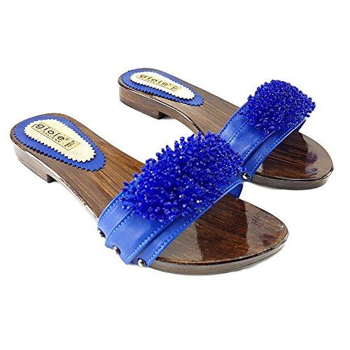 Shoes 12536 Baja Azul Kiara Ble Zueco De 7TqwxzSn
