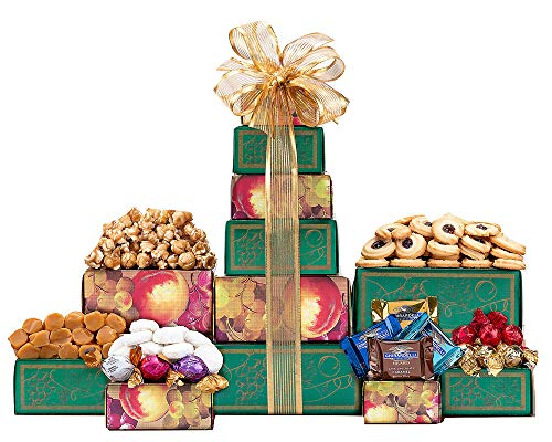 Wine Country Gift Baskets Ghirardelli, Godiva Chocolate and More Gift Tower. Christmas Chocolate Gift Basket. Holiday Gift Tower. Perfect For Family Gifts, Corporate Gifts, Token of Appreciation Gift. ()