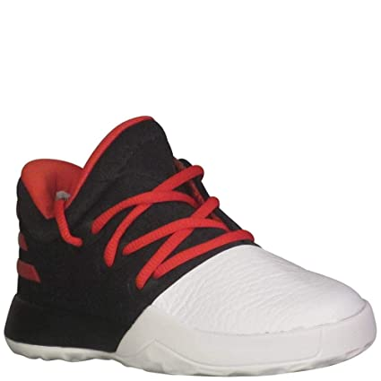pretty nice 1e48e 0df2b Adidas Harden Vol 1 Black Scarlet White Infant Infant Shoes 4
