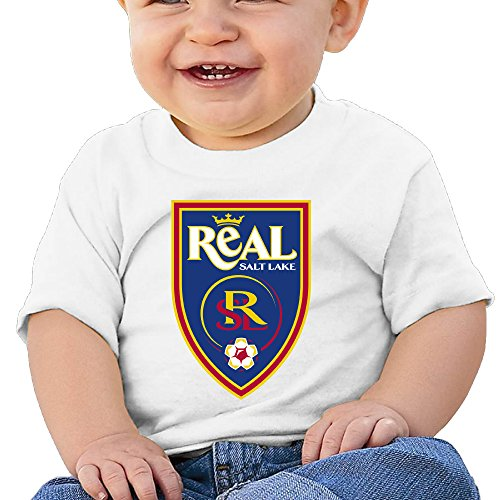 Real Salt Lake Jeff Cassar Infant T Shirt Newborn Baby Clothes
