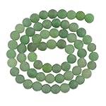6mm Round Green Aventurine Gemstone L...