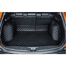 FLY5D Trunk Mat Cargo Mats Boot Liner Car Carpet Waterproof For Honda Vezel /HRV 2015-2016 (Honda Vezel /HRV 2015-2016, Black)