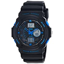 SKMEI Analog-Digital Multi-Colour Dial Men's Watch-AD0955 (BK Blue)