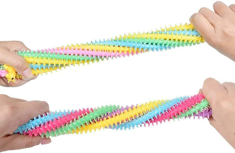 Stress Relief Alpaca String Toys for Kids and Adults Avicii Fovever ZZ Stretchy String Fidget Sensory Toys 6 pcs Suitable for ADHD Anxiety and Autism
