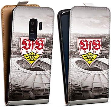 DeinDesign Tasche kompatibel mit Samsung Galaxy S9 Plus Flip Case H/ülle VfB Stuttgart Offizielles Lizenzprodukt Stadion