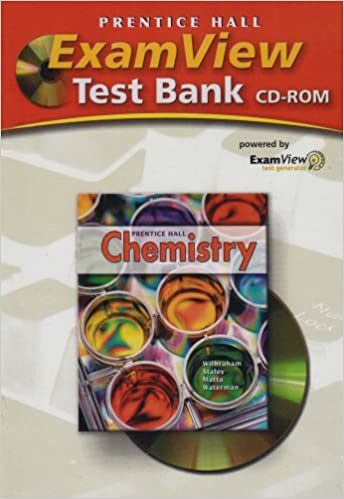 Amazon examview test bank cd rom for prentice hall chemistry examview test bank cd rom for prentice hall chemistry teachers guide edition fandeluxe Gallery