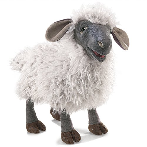 Folkmanis Bleating Sheep Hand Puppet Plush by Folkmanis