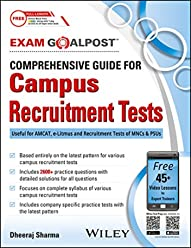 Wiley's Comprehensive Guide for Campus Recruitment Tests Exam Goalpost