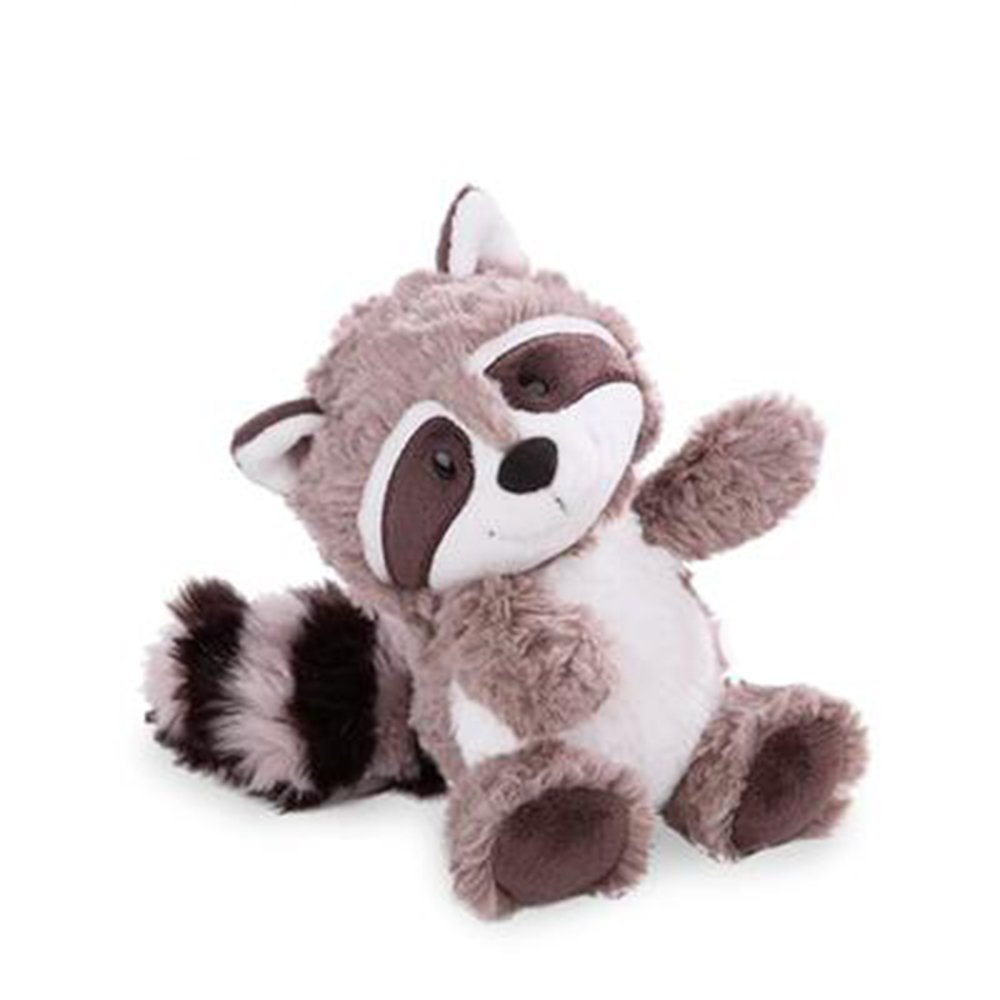 25cm Cartoon Big Tail Raccoon Plush Toy Cute Soft Stuffed Animals Doll Pillow for Girls Children Kids Baby Birthday Gifts by Eden Fghk (Image #2)