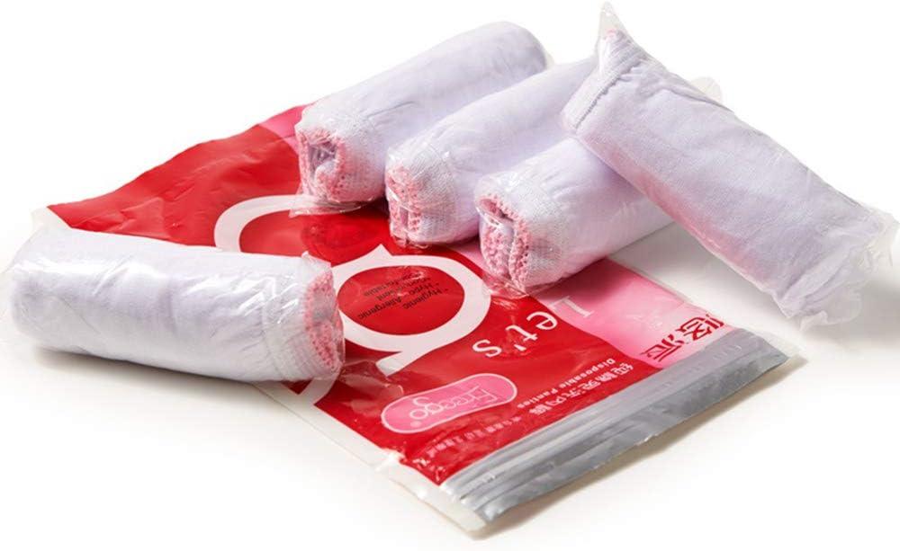 5 bragas desechables de algodón para viajes, hospitales ...
