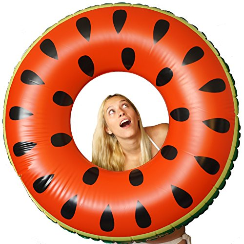 Freshy Fresh Watermelon Inflatable Innertube