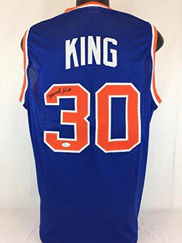 Bernard-King-Signed-Jersey-Coa-New-York-Knicks-Basketball-Autograph-JSA-Certified-Autographed-NBA-Jerseys
