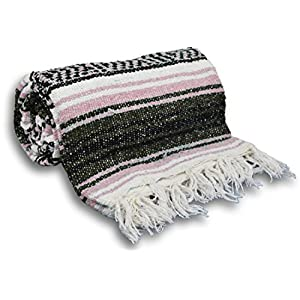 Well-Being-Matters 510yzCkpVML._SS300_ YogaAccessories Traditional Mexican Yoga Blanket