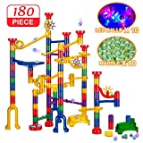 Best Marble Runs - Banvih 180 Pc Marble Run Track with LED Review