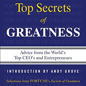Secrets of Greatness Audiobook