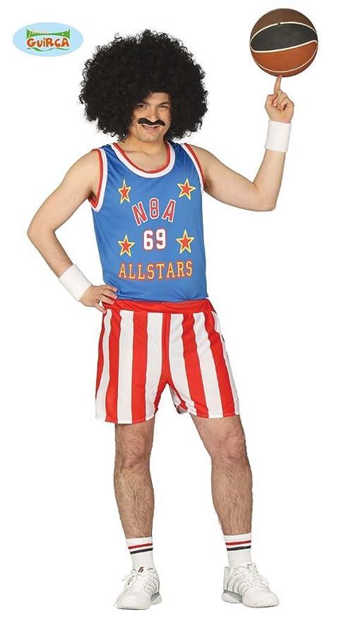 Disfraz de jugador de básquet USA adulto