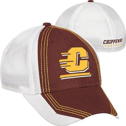 Amazon.com   Central Michigan Chippewas Maroon adidas Camp ... 15e3f4b5518