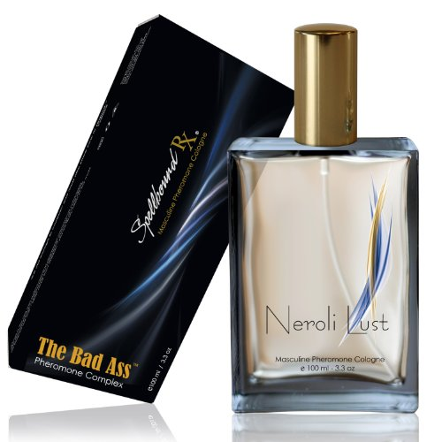 'BAD ASS' Masculine Pheromone Cologne with the 'NEROLI LUST' Fragrance From SpellboundRX - The Intelligent Pheromone Choice