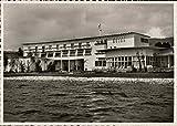 Das Schweizer Hotel Zurich, Switzerland Original Vintage Postcard
