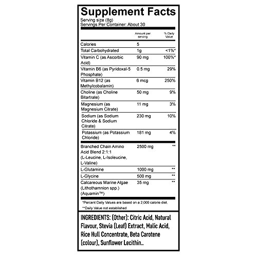 Flexatarian Hydro Flex, Natural Hydration Powder with BCAAs, Pineapple Mango, 30 Servings by Flexatarian (Image #2)