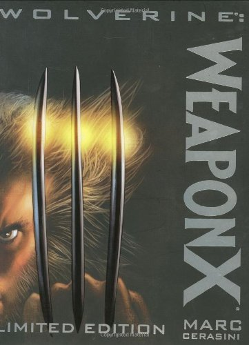 Wolverine weapon x hardcover buyer's guide