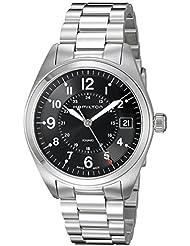 Hamilton Mens Khaki Field Swiss Quartz Stainless Steel Casual Watch (Model: H68551933)