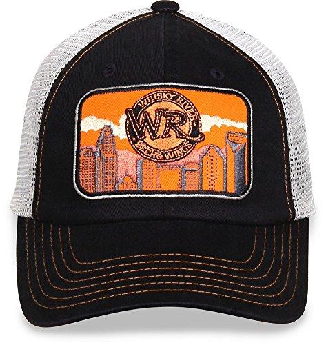 Dale Earnhardt Jr.-JR Motorsports-Adjustable Snapback Trucker Hat Cap-Whiskey River Skyline Patch