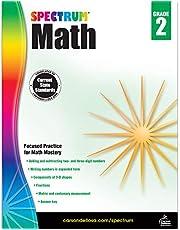 Spectrum Math Workbook, Grade 2